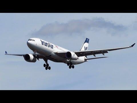 Iran Air Airbus A330-200 [EP-IJA] Landing and Takeoff at Hamburg Airport (HAM) [Full HD]