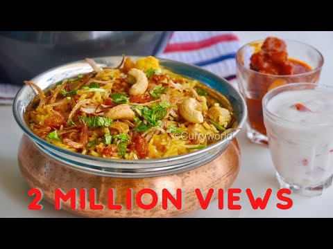 Quick & Tasty Vegetable Biriyani/Pressure Cooker Vegetable Biryani-Easy Veg Biryani-Recipe no 146