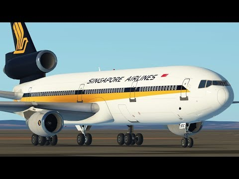 Infinite Flight Update - MD11, DC10, KC10 Stream