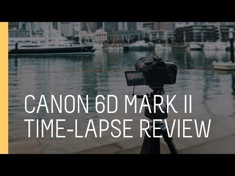 Quick Tip - Using the Canon 6D Mark II for Time-lapse