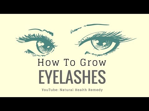 How To Grow Eyelashes Long Faster| How to Get Long Eyelashes?
