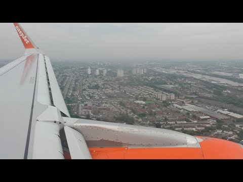 Easyjet A320 Berlin Schönefeld to Glasgow *Full Flight*