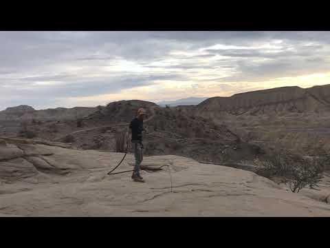 Desert Bullwhip Practice Session