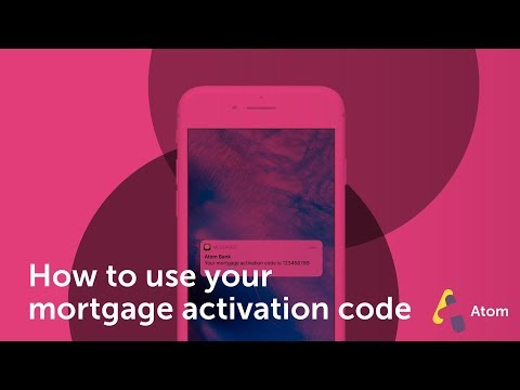 How do I use the mortgage activation code?