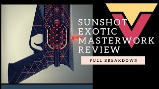 Destiny 2  EASY SUNSHOT BLAST KILLS! How To Farm Sunshot Catalyst
