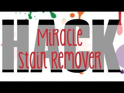 Miracle Stain Remover Hack