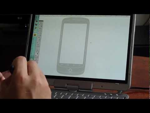 Sketching a wireframe with HP 2760p, Wacom and Fireworks CS5.5