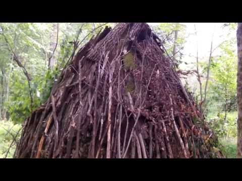 finished wigwam: open house