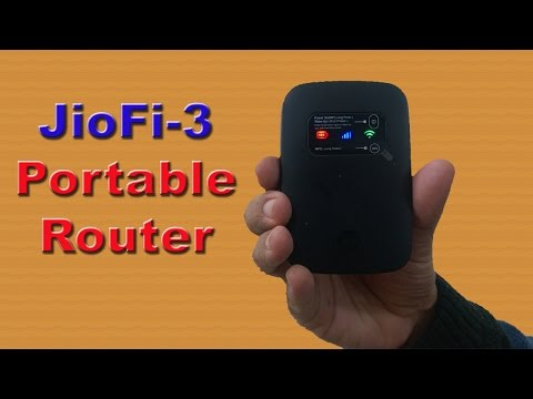 JioFi 3: Make voice & video calls |Save data wirelessly on SD card