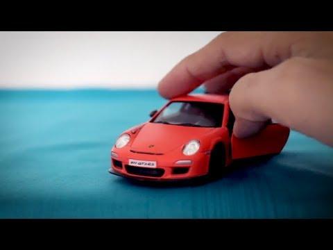 Porsche 911 GT3 RS Diecast Car 1/36 Scale Model