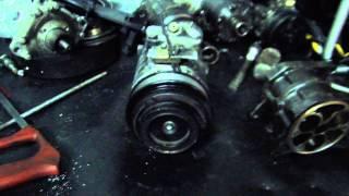 Reparo no compressor de ar condicionado de veículos nacionais