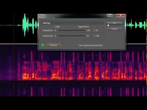 How to Remove Noise in Adobe Premiere Pro CS5 via Adobe Soundbooth Tutorial