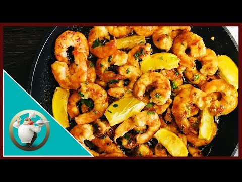 Browned Butter Honey Garlic Shrimp With Pasta |  Shrimp Pasta With Honey And Garlic Sauce
