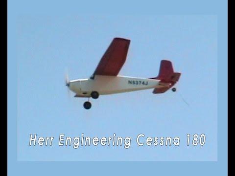 Herr Cessna 180 R/C Model Airplane
