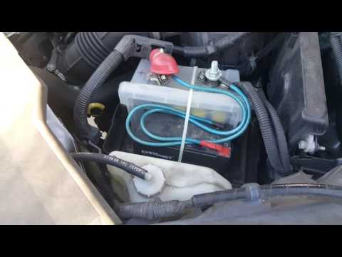 Using capacitors instead of a car battery for 3 years and counting!