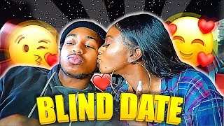 I SET DDG UP ON A BLIND DATE WITH A CHOCOLATE GIRL!!(AJ!) (He Likes Her)