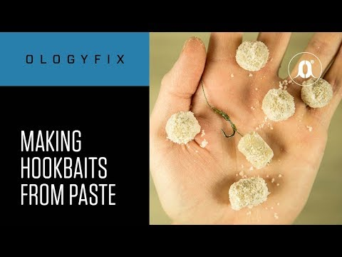 CARPologyTV - How to make hookbaits from paste