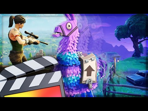 How To Make A Fortnite Transition - Final Cut Pro X Tutorial