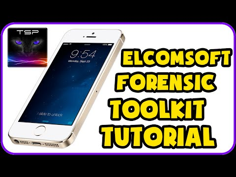 Elcomsoft iOS Forensic Toolkit DETAILED USAGE TUTORIAL