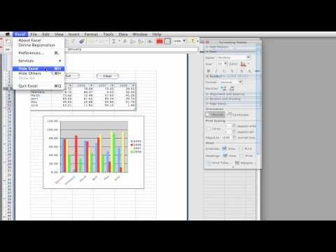 Excel 2008 Visual Basic Macros
