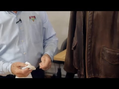 Cleaning a Vintage Leather Jacket : Leather & Fabric Care
