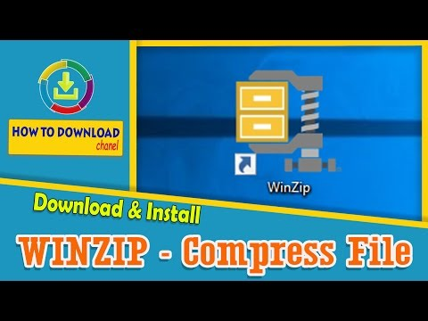 How To Download Free Winzip For Windows 10 - Compress Extract Files - How To Download