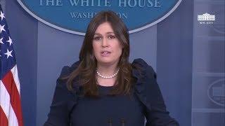 2/12/18: White House Press Briefing