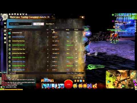 Guild Wars 2: Unidentified Dyes Week of 4/15/2014