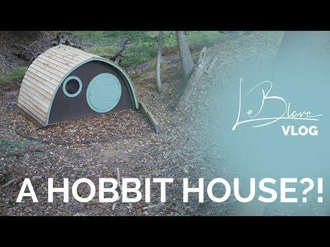 VLOG - Sleeping in a Hobbit House & 1 Million Flying Ants!!