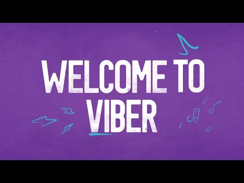 Welcome to Viber!