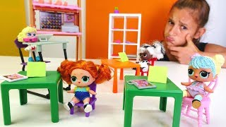 Download L.O.L oyuncak bebek sınavında kalıyor! Oyuncak u. Kız oyunları Video
