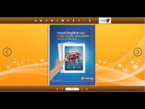 Turn PDF into interactive mobile flipping magazine using Flip PDF