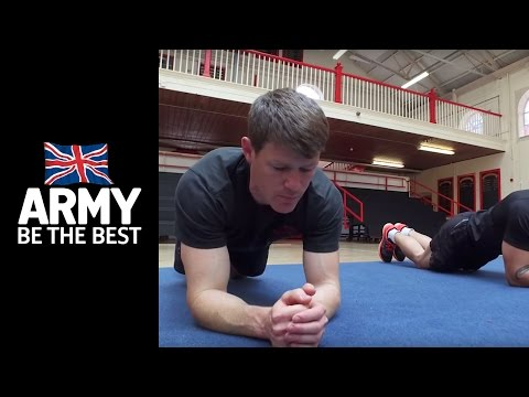 11 Days to get Army Fit: Planks - Fitness - Army Jobs