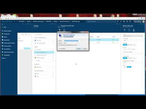 Azure  (RM) - How to Setup RDP for Remote Access