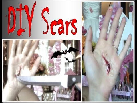✄ Make Your Own Prosthetic Scars At Home For Halloween ✄ Tutorial