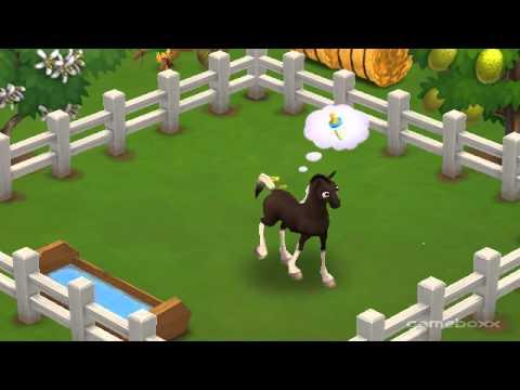 Baby Georgian Grande Horse - FarmVille 2's Farm Essentials Theme