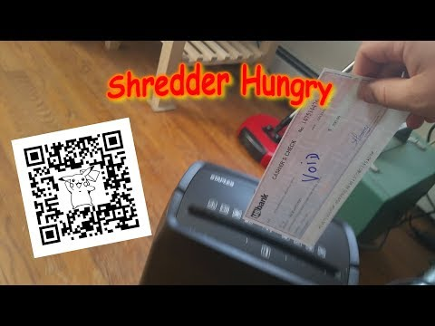 Voided Cashier's Check