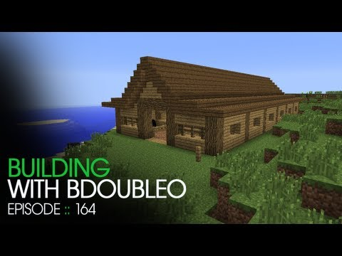 Minecraft Building with BdoubleO - Episode 164 - Horse Stable