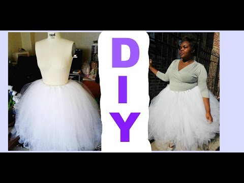 DIY Tulle Skirt Tutorial (No Sewing)