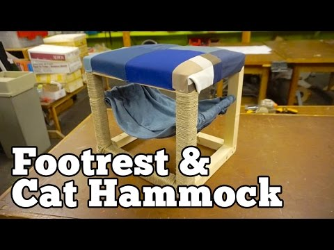 Footrest/Cat Hammock | Barb Makes Things #59