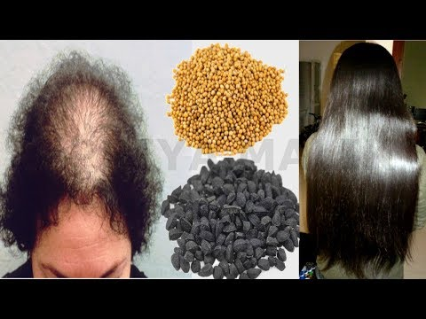 How To Stop Hair Fall and Grow New Hair Naturally ~ Homemade Hair oil for Hair Fall | Priya Malik