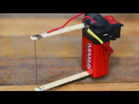 How to make a plastic foam cutter