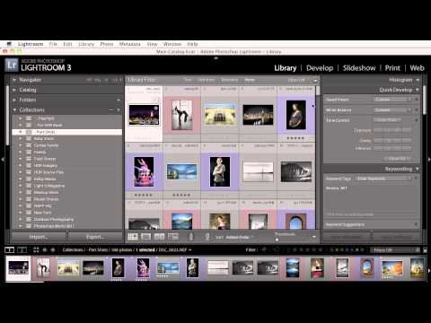 Creating/Deleting Collections and Images with the Lightroom plugin from 500px