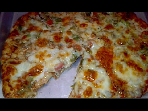 Thin Crust Restaurant Style Pizza From Scratch