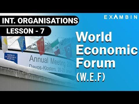 World Economic Forum WEF   International Organization