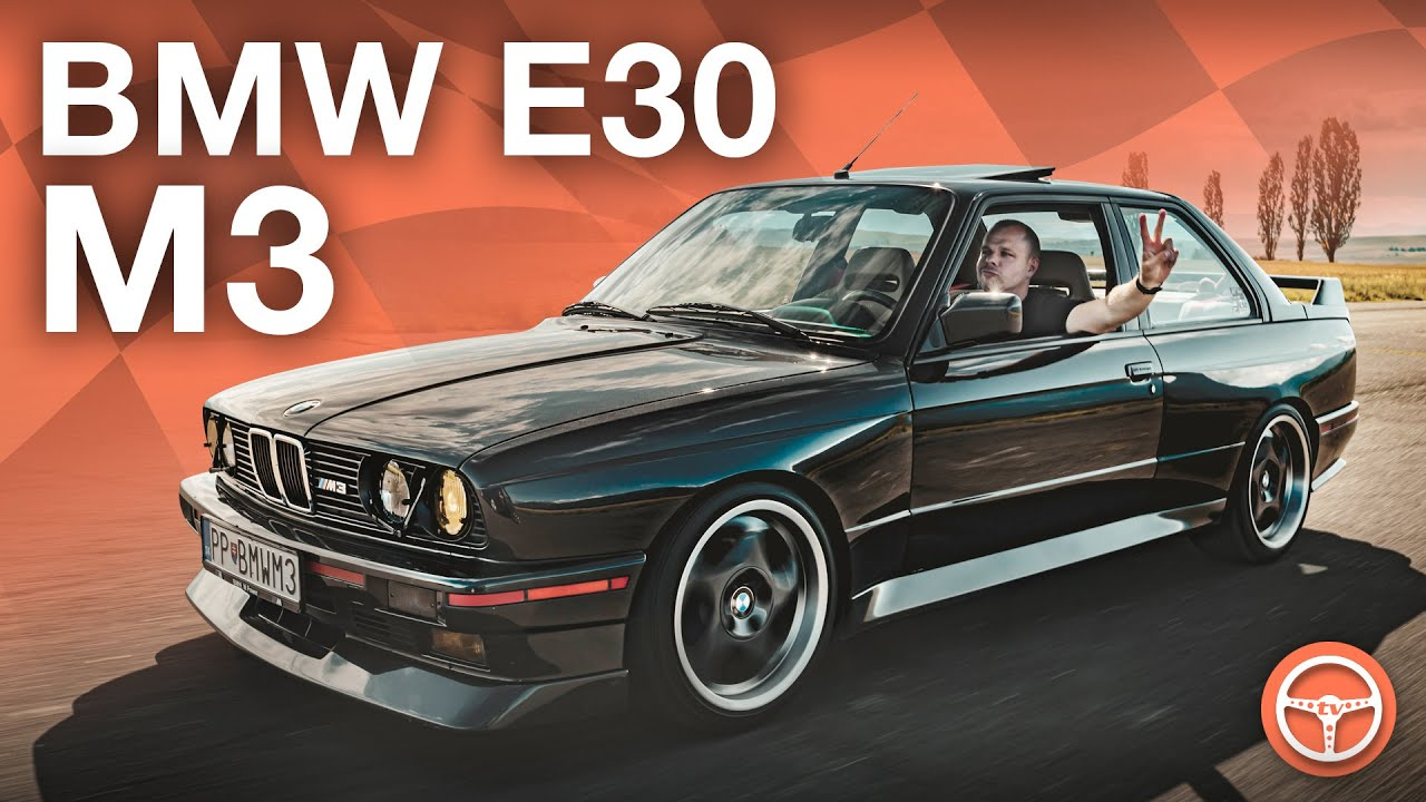 Janove BMW M3 E30 - volant.tv