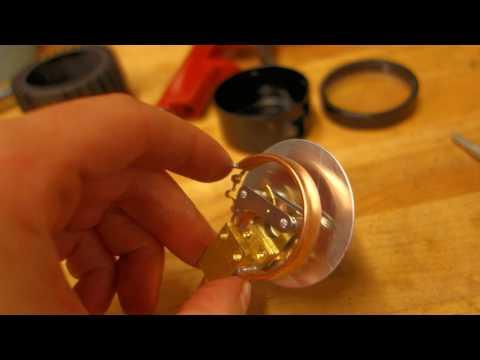 How to disassemble, repair and calibrate an air pressure gauge