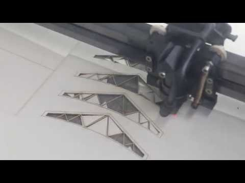 Laser Cutting - AutoCAD 3 - Send File + Cut