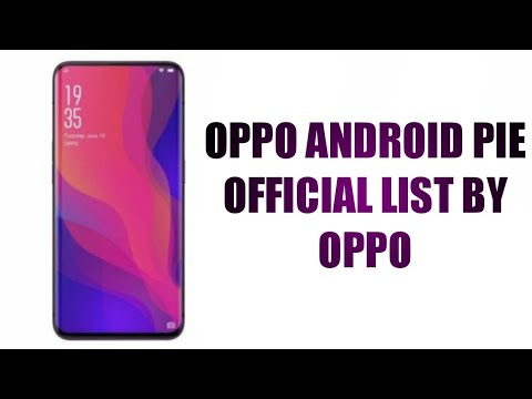 Oppo pie update list | these oppo phones getting android pie