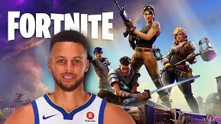 If Stephen Curry Played Fortnite Battle Royale!